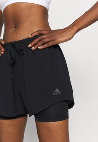 adidas Performance - SHORT 2IN1 - kurze Sporthose - black - 4