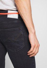 TOM TAILOR DENIM - CULVER PERFORMANCE - Jeans Skinny Fit - blue black denim - 3