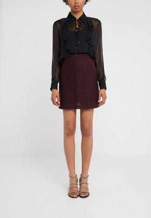 PERDONARE GONNA  - A-line skirt - red