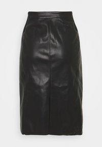 Vero Moda Tall - VMBUTTERSIA SKIRT - Pencil skirt - black - 0