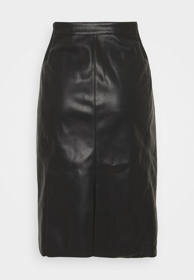 VMBUTTERSIA SKIRT - Gonna a tubino - black