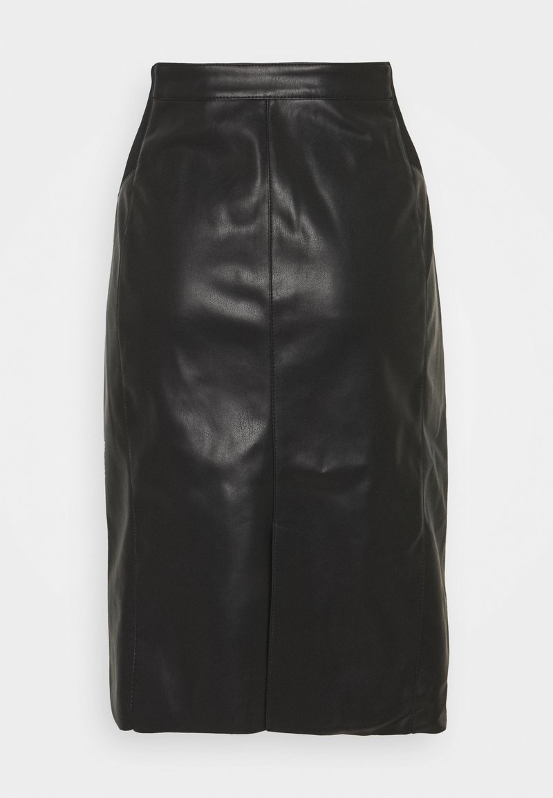 Vero Moda Tall - VMBUTTERSIA SKIRT - Pencil skirt - black
