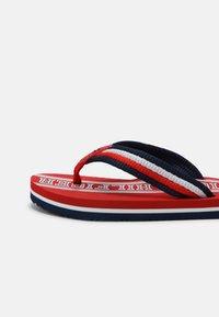 Tommy Hilfiger - UNISEX - T-bar sandals - red/multicolor - 4