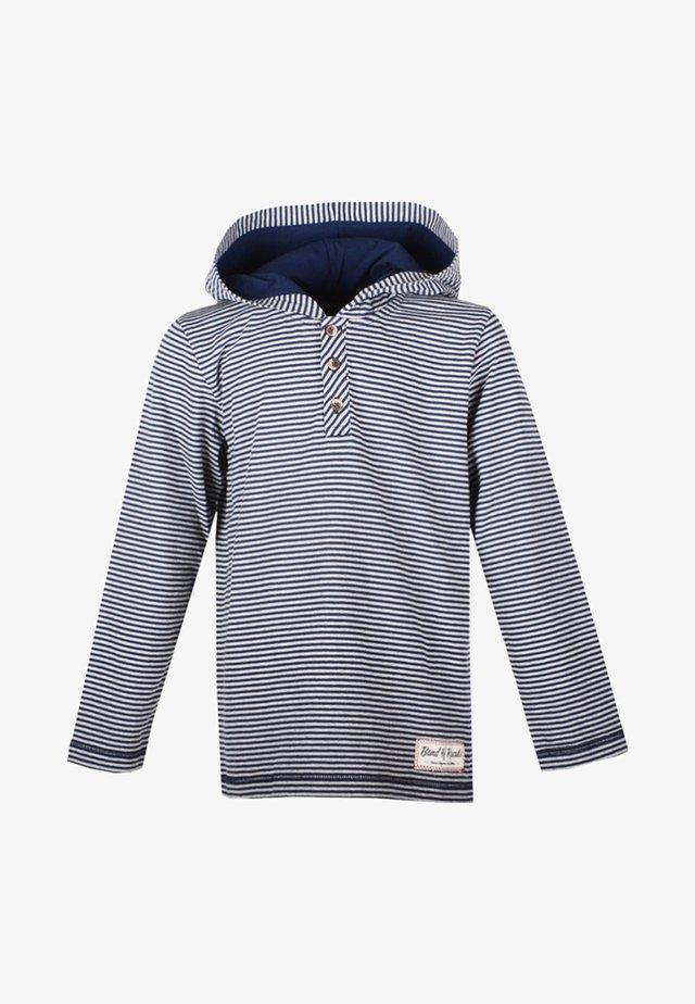 Hoodie - navy/grey