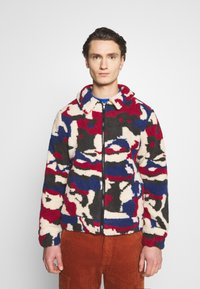 Another Influence - PRINTED BORG JACKET - Winterjas - multi - 0