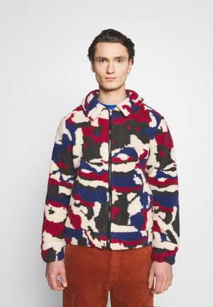 PRINTED BORG JACKET - Winter jacket - multi