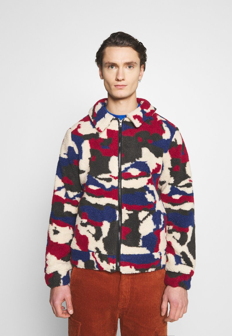 Another Influence - PRINTED BORG JACKET - Winterjas - multi
