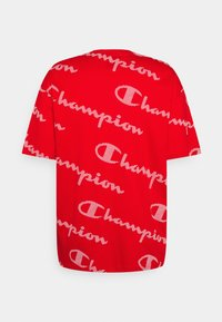Champion - CREWNECK - Print T-shirt - red - 1