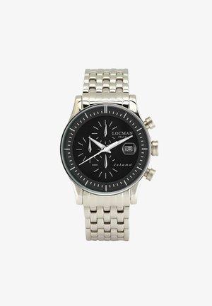ITALY  ISLAND  - Chronograph watch - silber