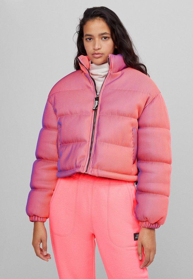 LENTICULAR - Veste d'hiver - neon pink