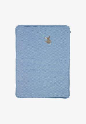SCHMUSEDECKE WATTIERT EMMI - Play mat - blue