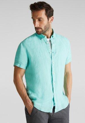 Shirt - aqua green