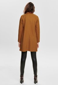 ONLY - Classic coat - pumpkin spice - 2