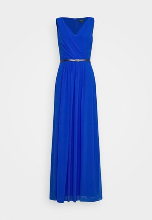 GRACEFUL LONG GOWN - Occasion wear - portuguese blue