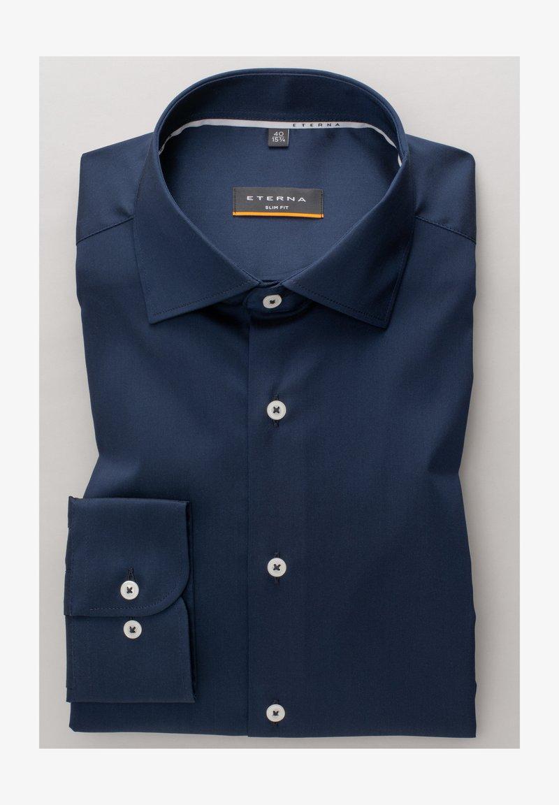Eterna - SLIM FIT - Formal shirt - marine