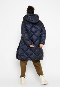 Aigle - FASSIE LONG - Winter coat - bleu marine - 2