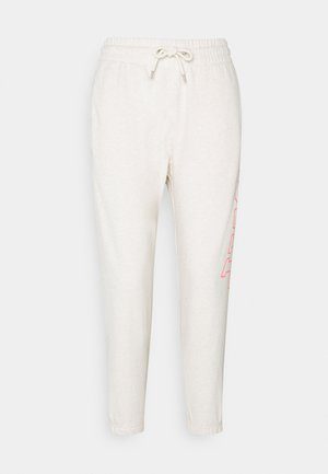 EASY - Pantalones deportivos - oatmeal heather