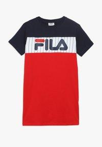 Fila - RUBI - Vestido ligero - true red/bright white/black iris - 0