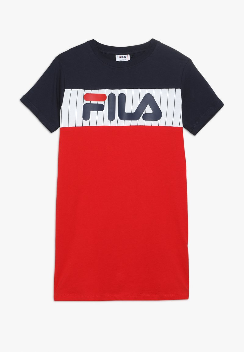 Fila - RUBI - Vestido ligero - true red/bright white/black iris