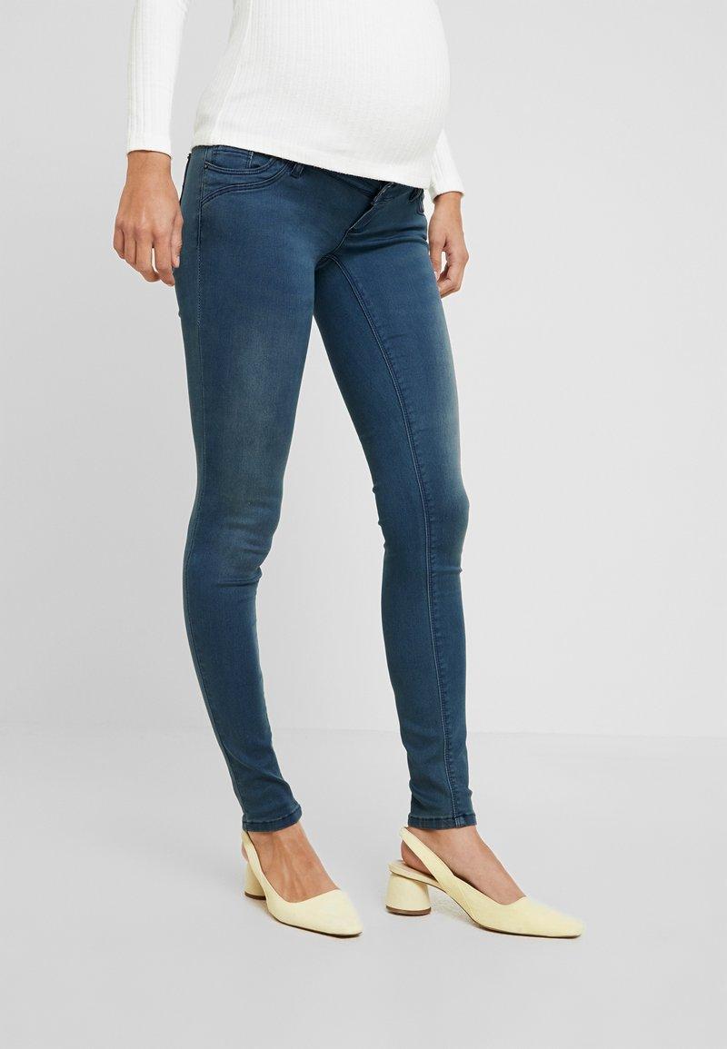 MAMALICIOUS - MLTORONTO  - Slim fit jeans - dark blue denim