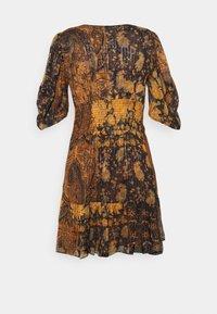 The Kooples - DRESS - Day dress - black/orange - 1