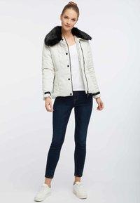 usha - Winter jacket - wool white - 1