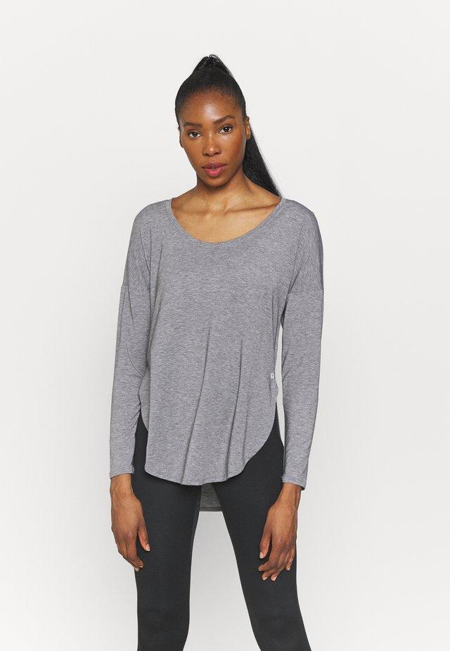 BREATHE - Long sleeved top - heather grey
