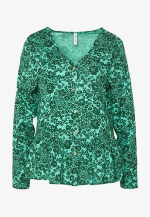 Bluse - dark green/turquoise