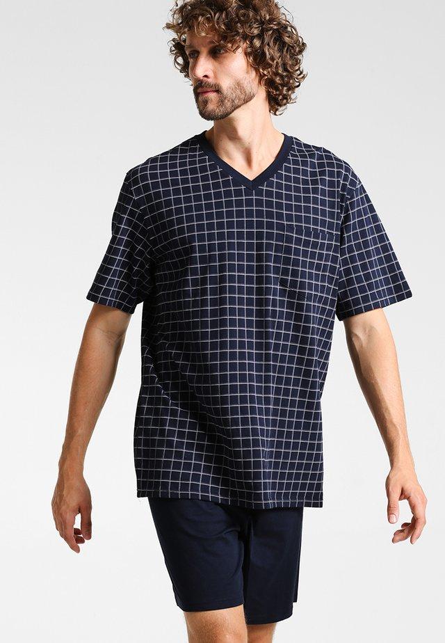 SET - Pyjama - dunkelblau