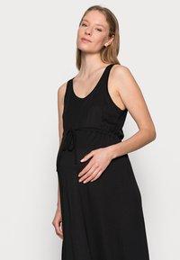 Anna Field MAMA - Maxi dress - black - 3