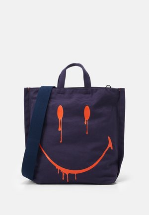 SMUDGE XL SHOPPER - Tote bag - blue