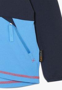 Jack Wolfskin - TURBULENCE BOYS - Soft shell jacket - night blue - 3