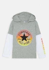 Converse - FLAMES HOODIE - Hoodie - dark grey heather - 0