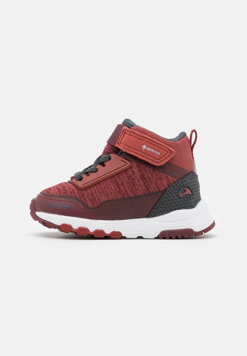 Viking - ARENDAL MID GTX UNISEX - Hiking shoes - wine/burgundy