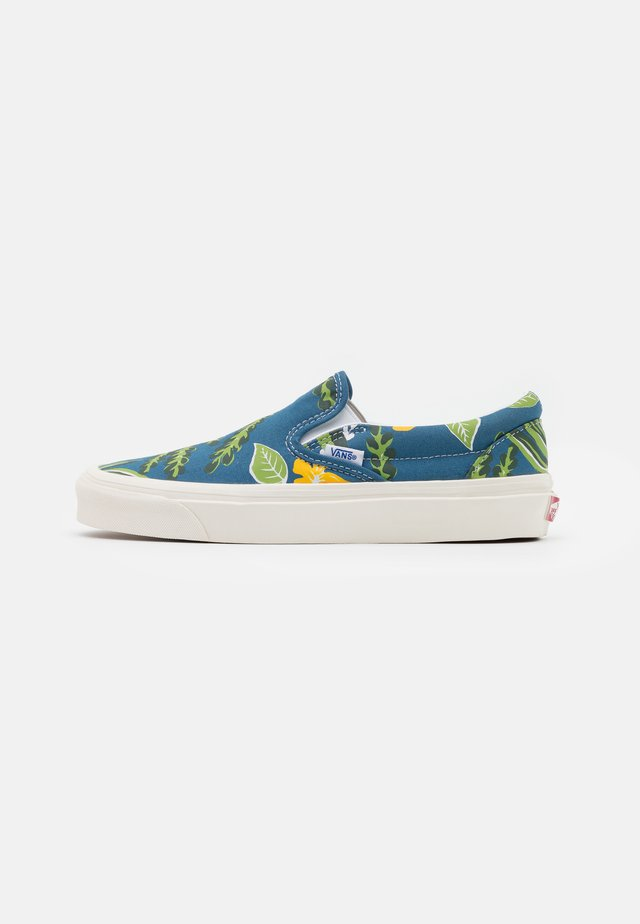 ANAHEIM CLASSIC  9 UNISEX - Slippers - blue/white/yellow