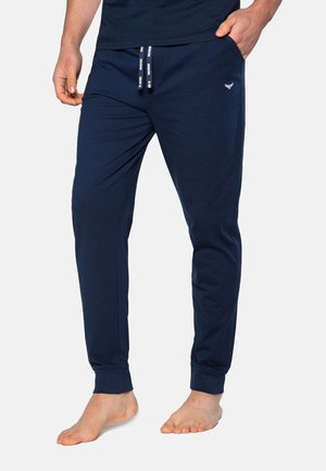 2 PACK - Verryttelyhousut - navy/grey marl