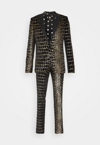 Twisted Tailor - BEGBY SUIT - Suit - black gold - 7