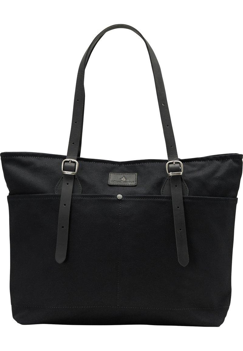 DreiMaster - DREIMASTER SHOPPER - Shopping bag - schwarz schwarz