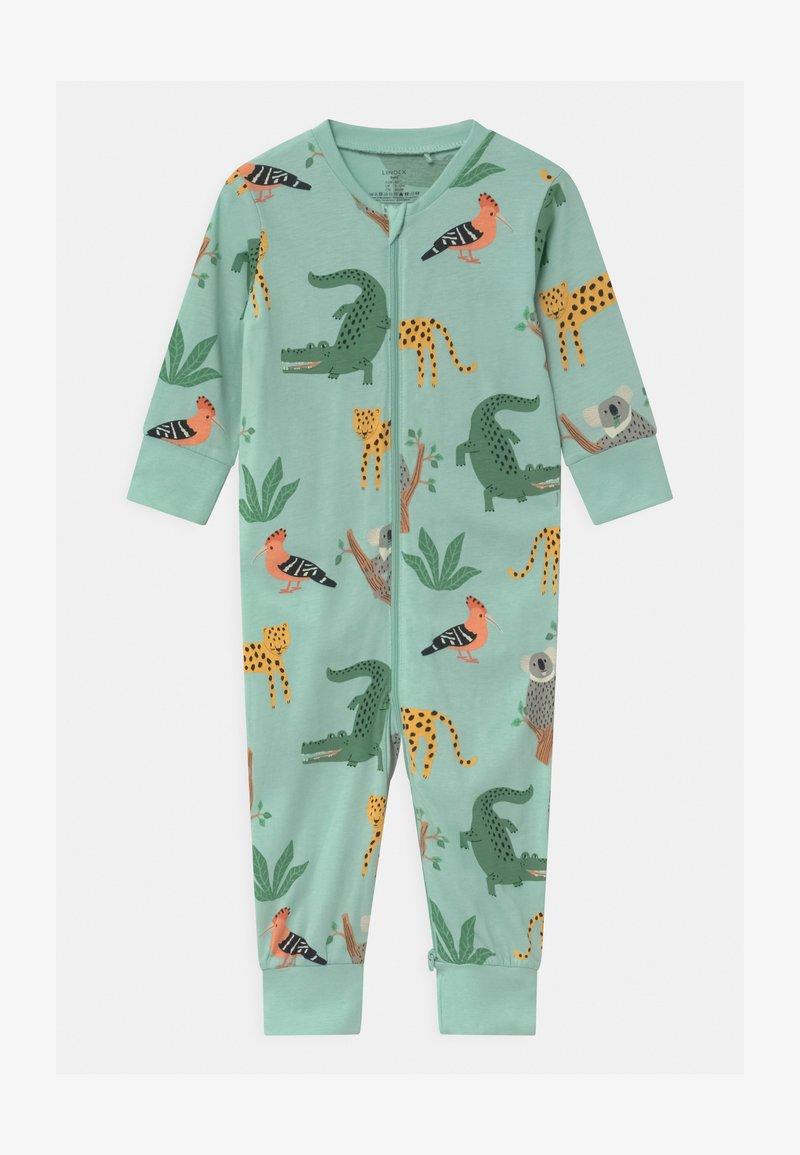 Lindex - KOALA & FRIENDS UNISEX - Pyjamas - light dusty turquoise