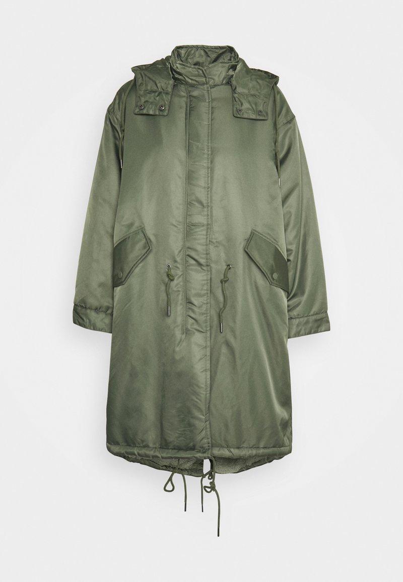 American Vintage - AKOCITY - Parka - mottled green