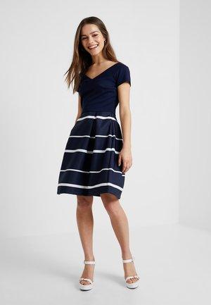 Cocktail dress / Party dress - navyblazer/white