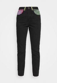 The Ragged Priest - ILLUMINATE - Straight leg jeans - charcoal/mixed colours - 4