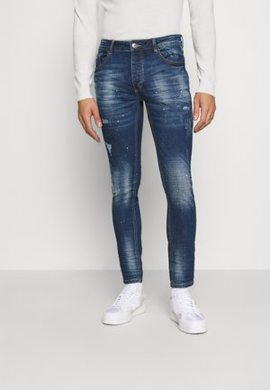 KERSLEY - Slim fit jeans - blue denim
