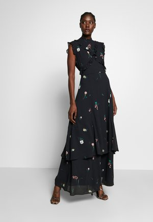 RUFFLED  - Maxi dress - black