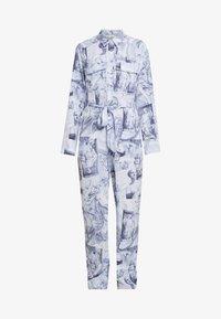 Monki - JONNA WORKWEAR - Jumpsuit - blue - 4
