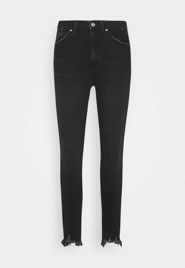 SCARLETT - Jeansy Skinny Fit - smoke brushed
