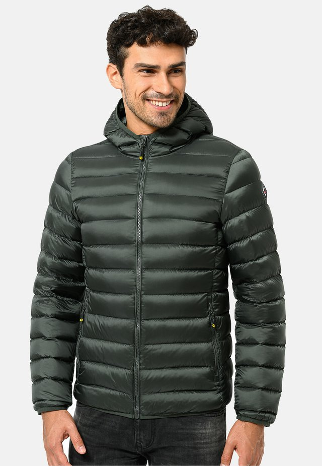 Down jacket - militarygreen
