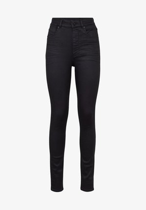 STRINGFIELD ULTRA HIGH SKINNY  - Jeans Skinny Fit - black metalloid cobler