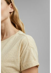 Esprit - PER COO CLOUDY - Basic T-shirt - sand - 2