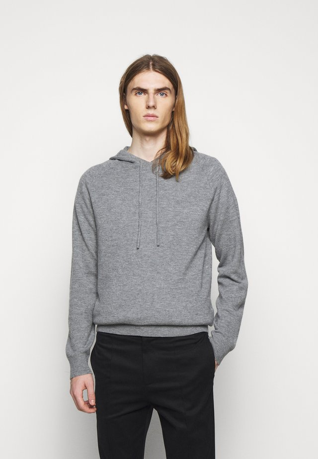 NAKKNE - Sweat à capuche - med grey mel